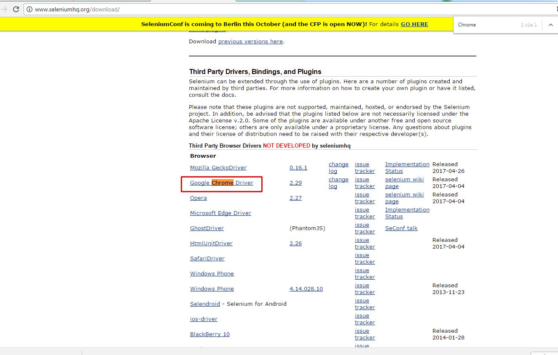 Cách cấu hình Selenium IDE chạy trên Chrome và IE